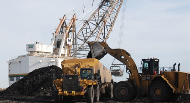 The Estevan thermal coal mine in south-east Saskatchewan, subject to per tonnage royalty bought by Altius off Sherritt. Photo: Westmoreland