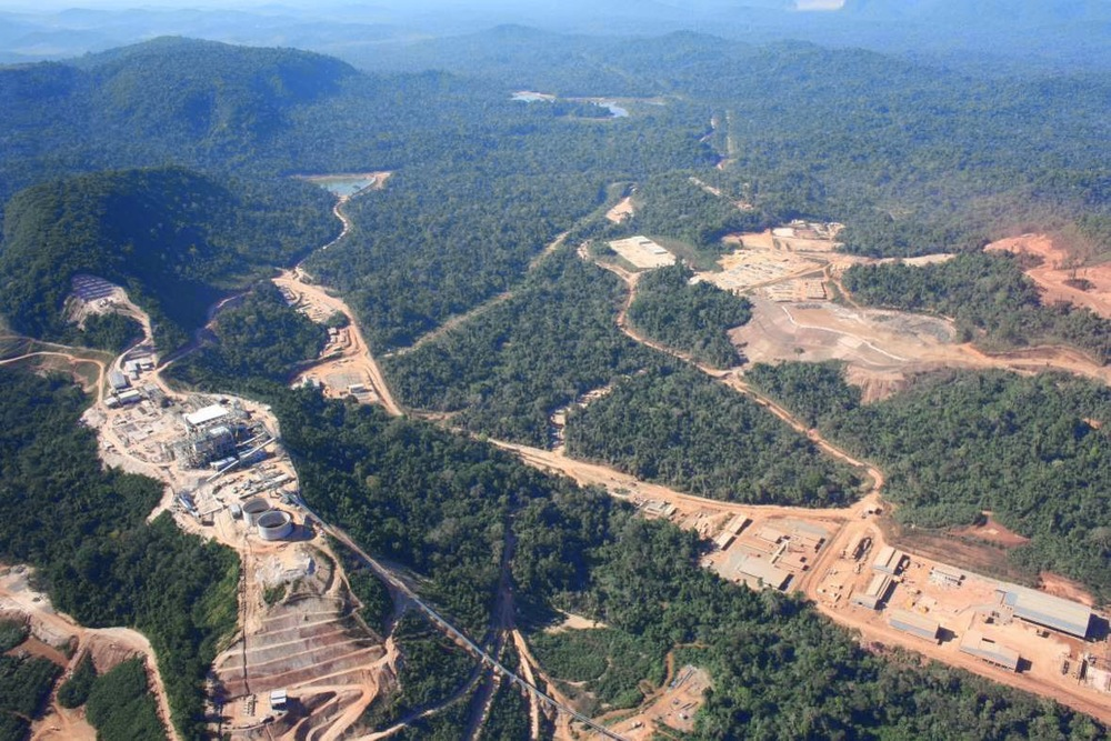 VALE's sprawling copper operations in Brazil's Carajas district. Photo: Vale