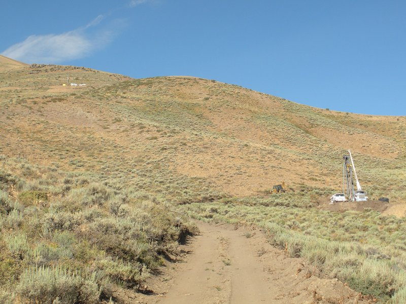 Gold Standard Venture's Railroad project, Nevada. Photo: Gold Standard Ventures