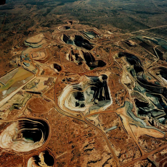 Northern Star's Jundee gold mine in Western Australia, bought from Newmont Mining in a deal frenzy funded by Evy Hambro. Photo: Northern Star