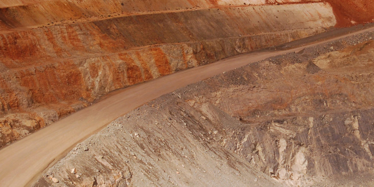 The Florida Canyon mine, Nevada, owned by Rye Patch Gold. Maverix has a 3.25 per cent royalty