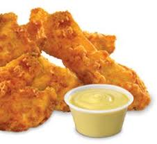 Chicken Tenders ----------------------------------- Single Order Serves 12 $49.99 or Double Order Serves 25 $79.99. ----------------------------------- BobbyG's Jumbo Tenders deep fried and ready or the buffet. Comes with a mix of Ranch, Blue Cheese or Honey Mustard.