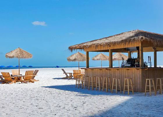 Hilton Tiki Bar - Clearwater Beach