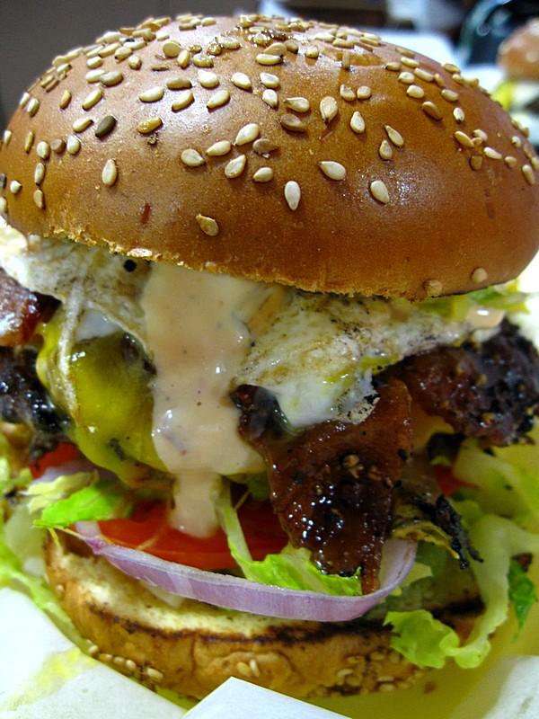 Charmcity Burgers - Deerfield Beach, FL (Cowboy Burger)
