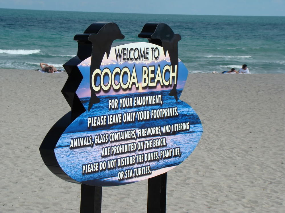Cocoa Beach Review Great Spot To Party On The Beach Or Watch The Cruise Ships Come In At Port