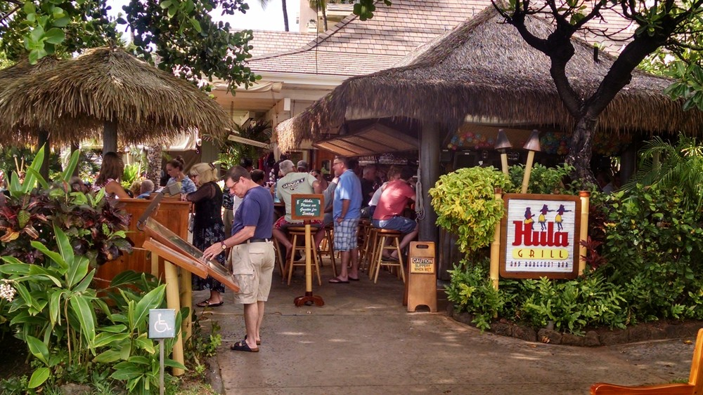Hula Bar & Grill - Maui, Hawaii
