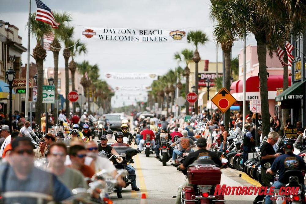 Bike Week on Main Street - Daytona Beach, FL