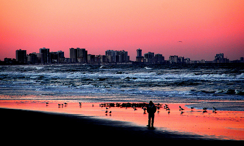 Beach Sunset - Daytona Beach, FL