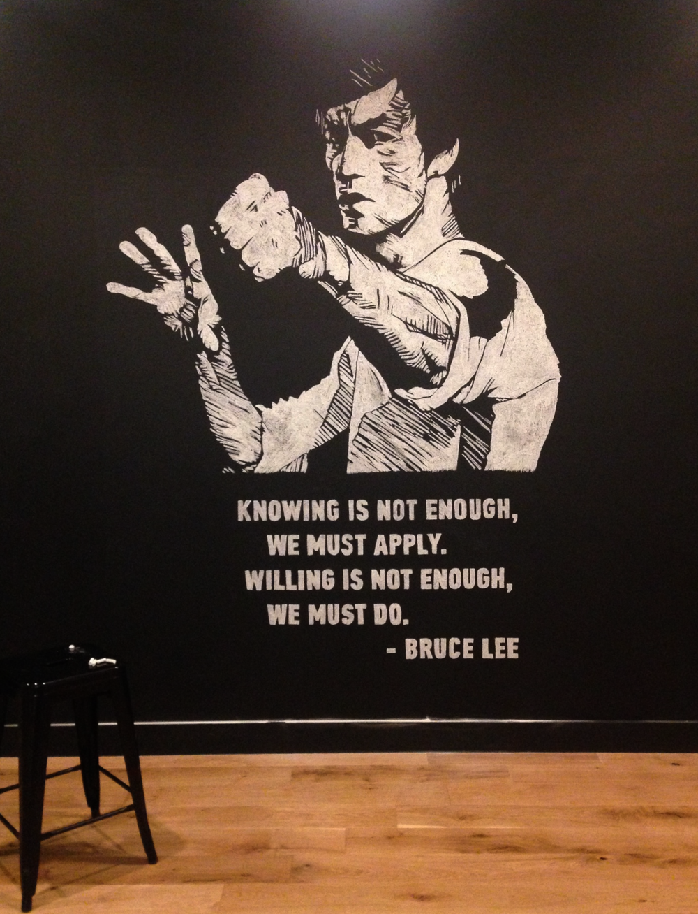 Bruce Lee portrait | General Assembly SF