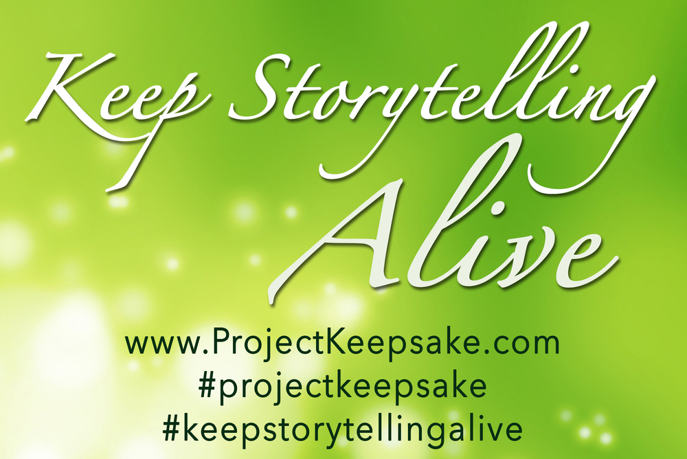 Join my crusade to keep storytelling alive by writing a story today and sharing this poster. Thanks!  —Amber