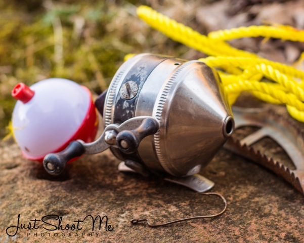 Matt Baxter shared a story about a fishing reel (Zebco 33) that his grandfather gave to him after a fishing trip when Matt was about five years old.