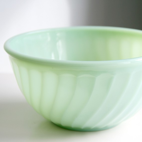 Cheryl Parham shared a story about her mother's Jadeite biscuit bowl. Read other keepsake stories in Project Keepsake.