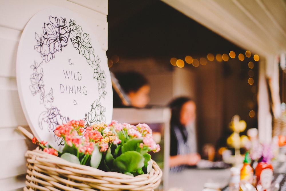 Wild Dining in George Square Gardens, Edinburgh Fringe 2015