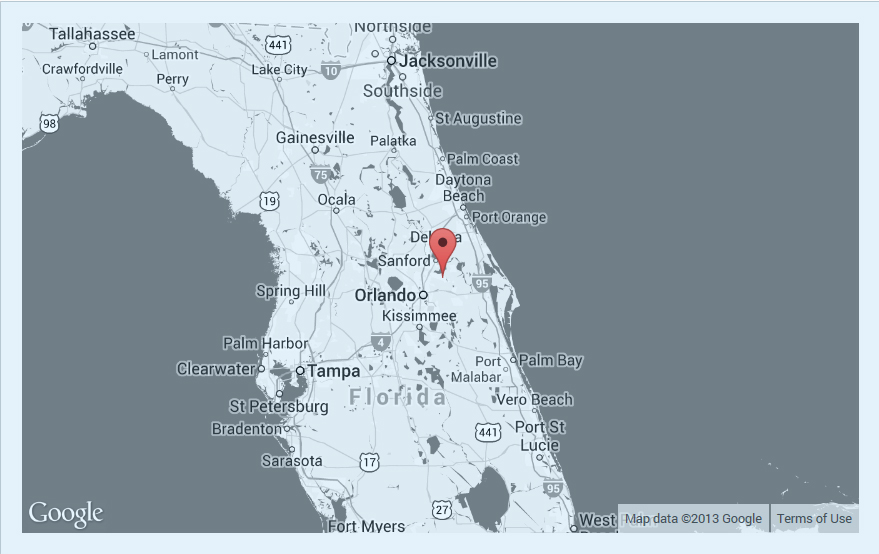 John's studio is located in the quiet Florida pines just  outside Orlando.