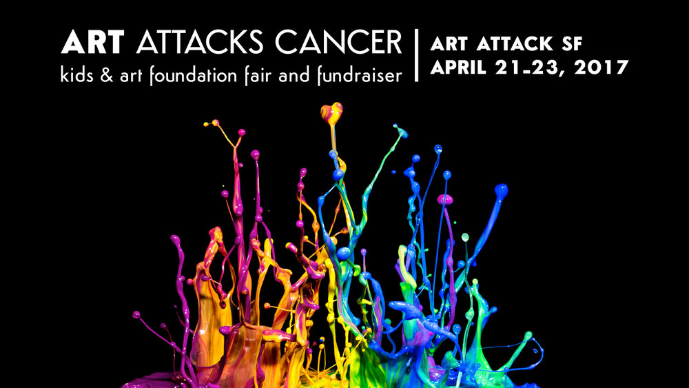 Art Attacks Cancer- Art Fair & Fundraiser Banner