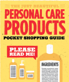 Just Beautiful Personal Care Products Pocket Shopping Guide