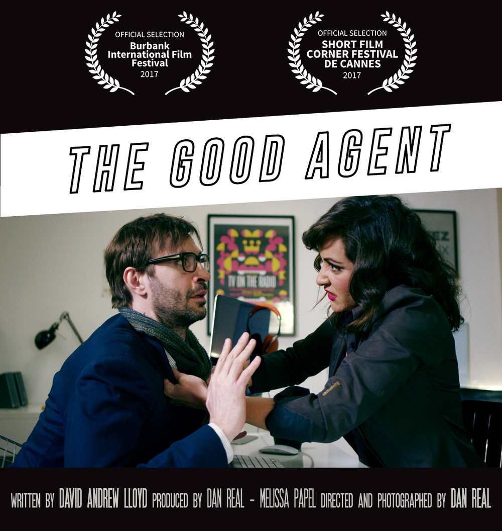 OFFICIAL SELECTION AT THE BURBANK INTERNATIONAL FILM FESTIVAL. - After been selected at the Short Film Corner, during the Cannes Film Festival, The Good Agent is in the official competition for the prestigious Burbank International Film Festival! Congrats to all the team!