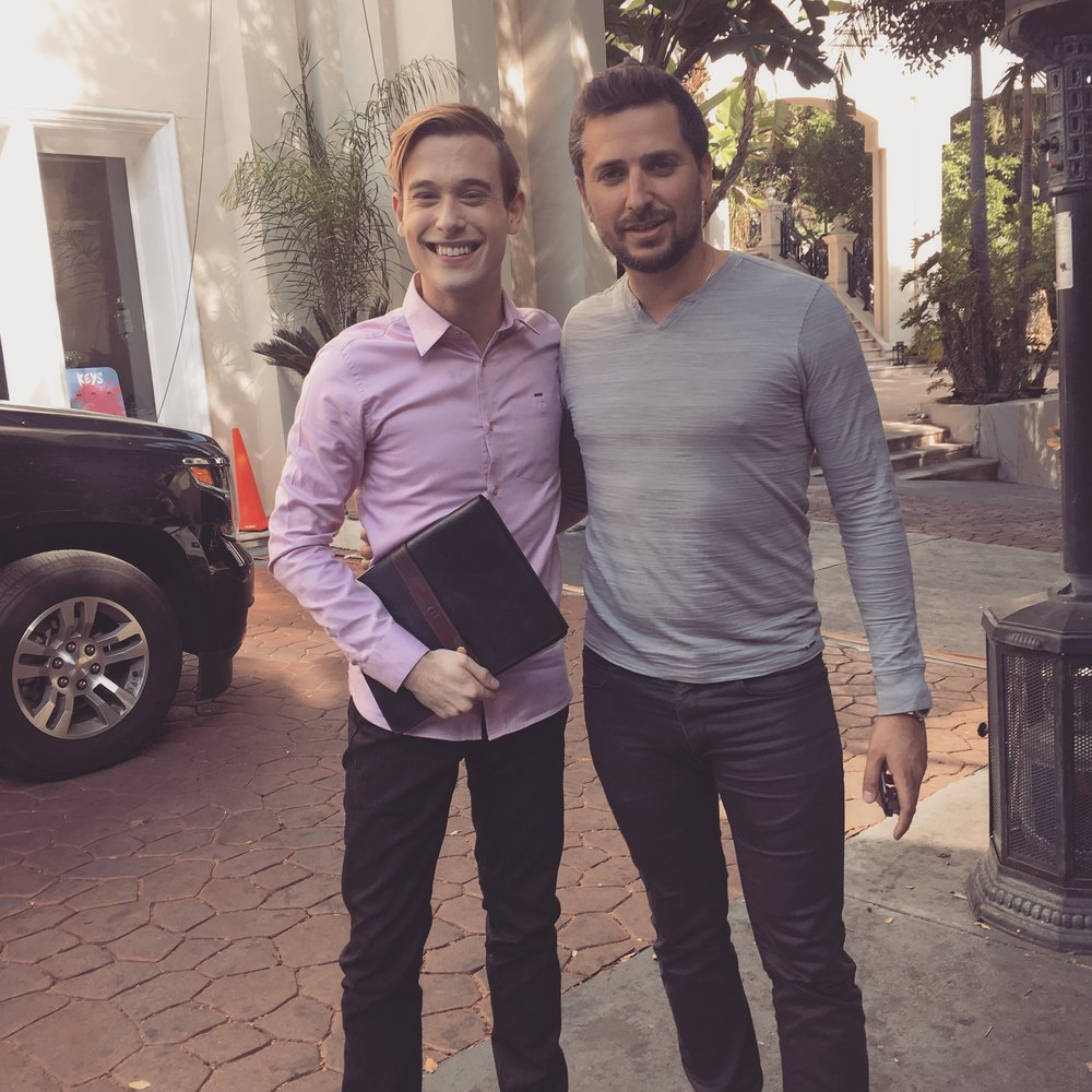 Tyler Henry - The famous Hollywood Medium came in the show to do a private reading of one of our candidate!