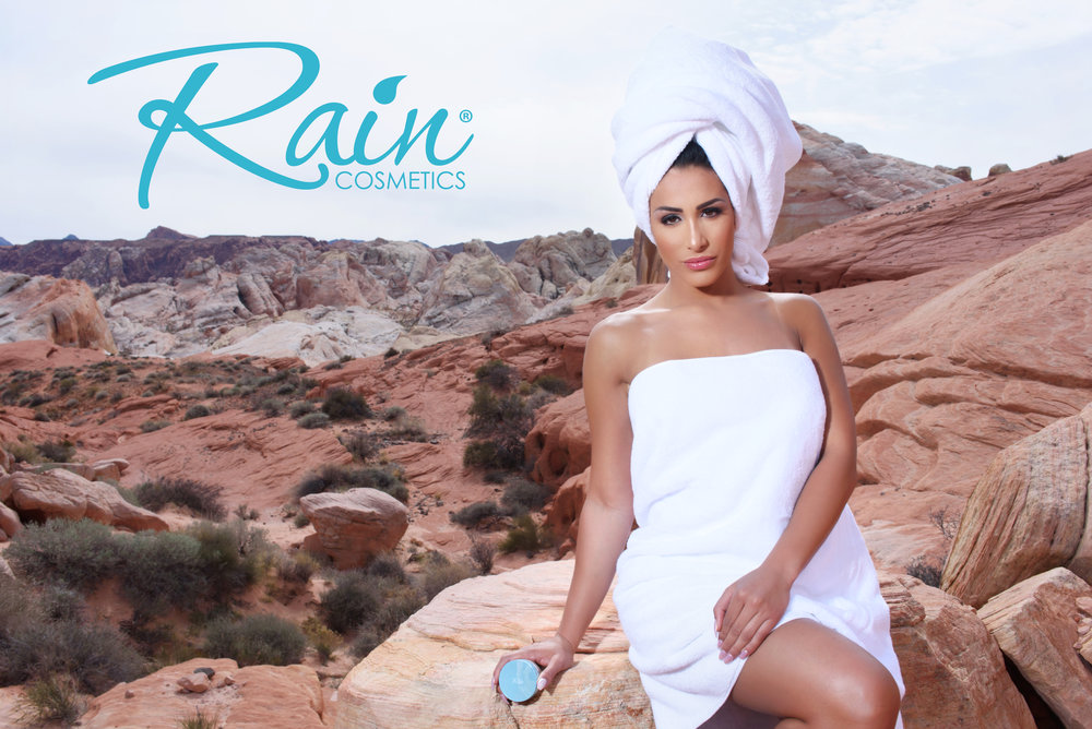 Rain Cosmetics - Leana became the new face of Rain Cosmetics in the USA!