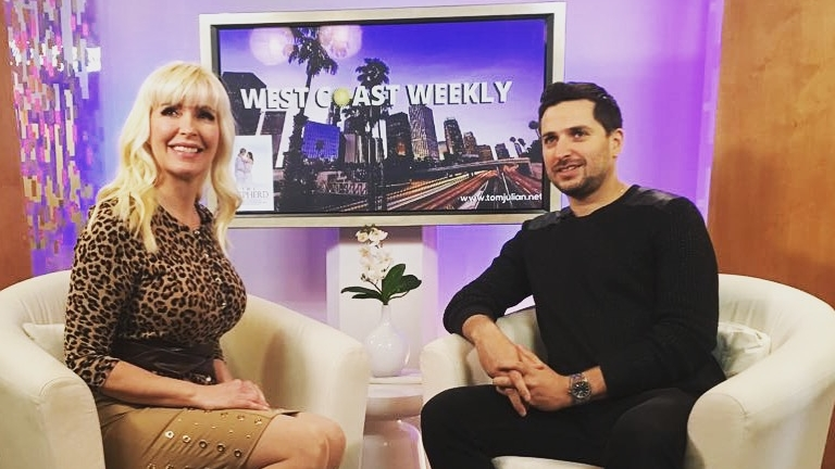 Dan Real on TV - Lisa Lockwood invited Dan in the West Coast Weekly show on KDOC to share his Hollywood Experience!