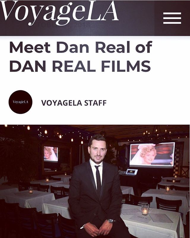 If you want to know my story and how to make it in Hollywood i invite you to read it! Thanks VoyageLA for this interview! Link in my Bio #danreal #producer #director #interview #losangeles #hollywood #voyagela #voyagelamag #danrealfilms