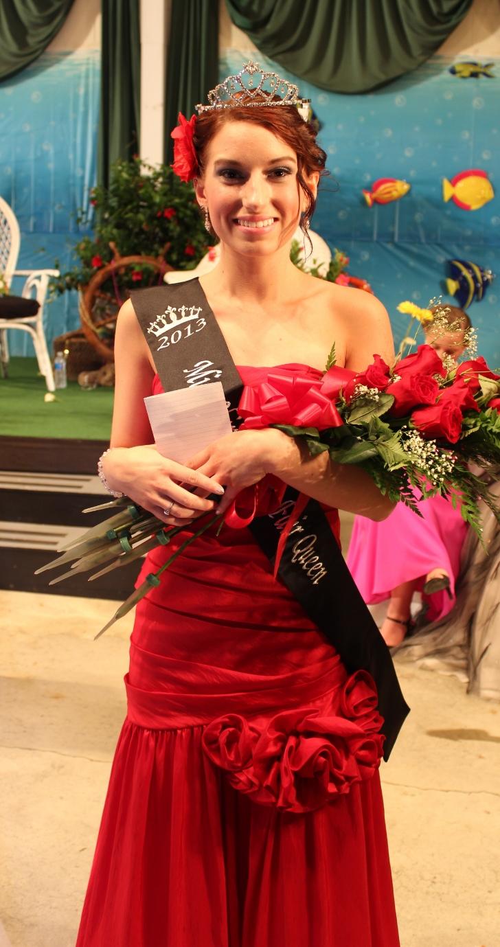 Rebecca Shotto , 2014 Fair Queen
