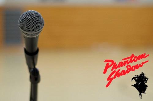 Karaoke by Phantom Shadow 7:00 PM - FREE Admission! Registration begins at 6 PM on stage
