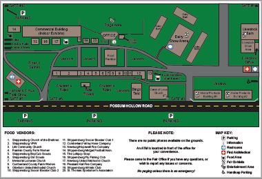 2016 Fairgrounds Map
