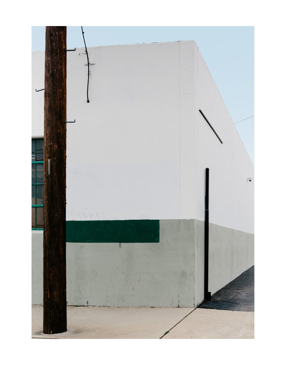 Minimal Hardscapes/ Green; Vernon, CA 2017