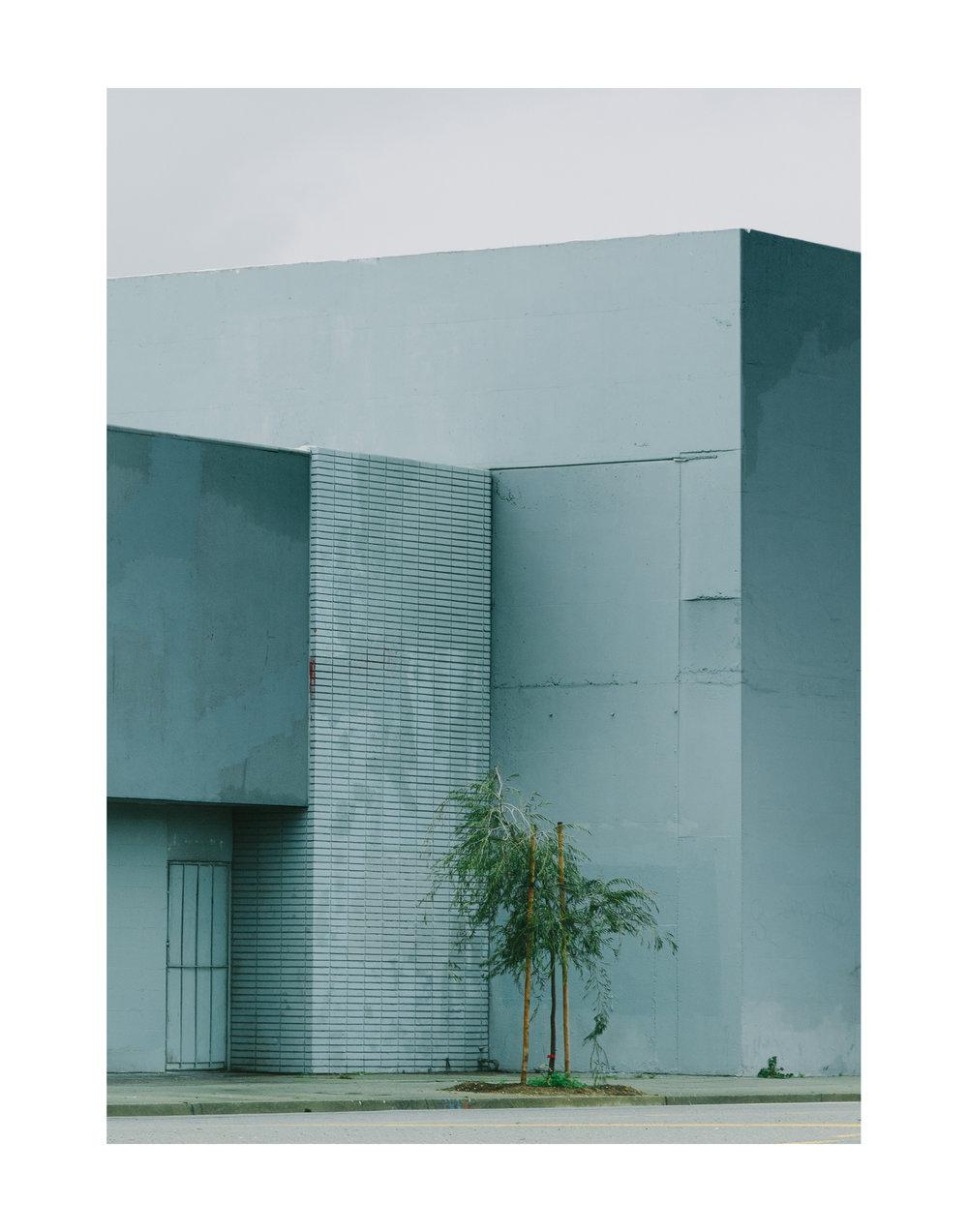 Monochromatic Blocks; Los Angeles, CA 2017