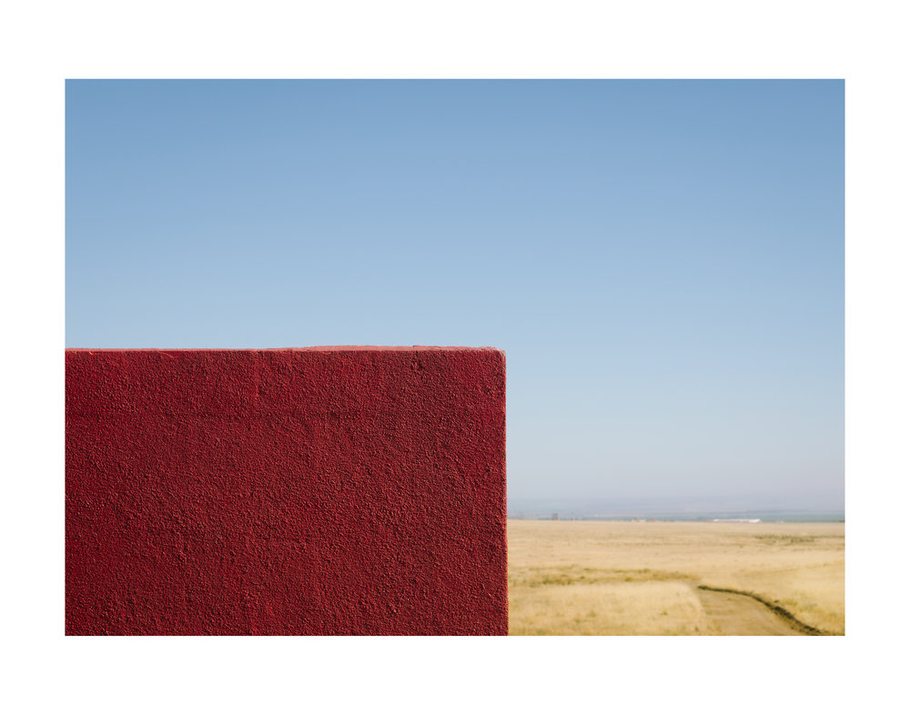 Red Block in Lebec; 2016