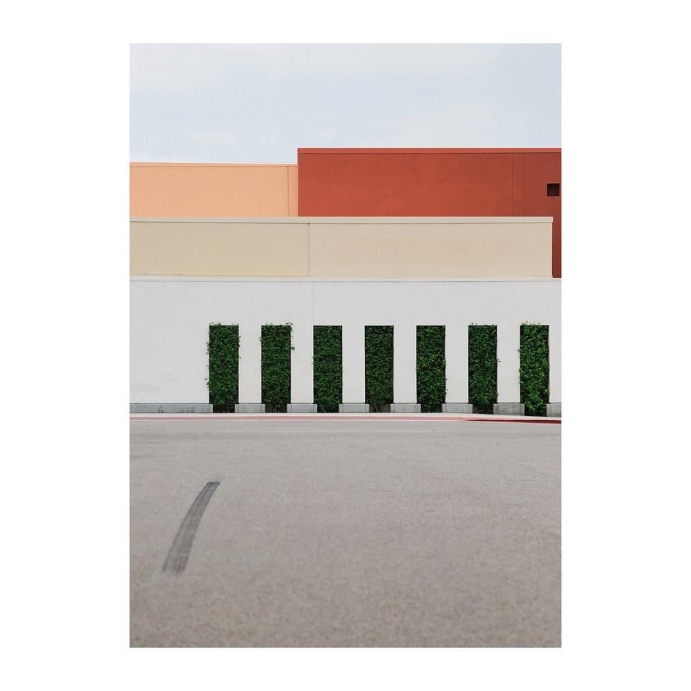 "A Newer Topographic #4; Indio California  Lightjet Kodak Endura C-Print,22.0"" x 18.0""  Signed, 2017  Edition of Four +1 Artist Proof"