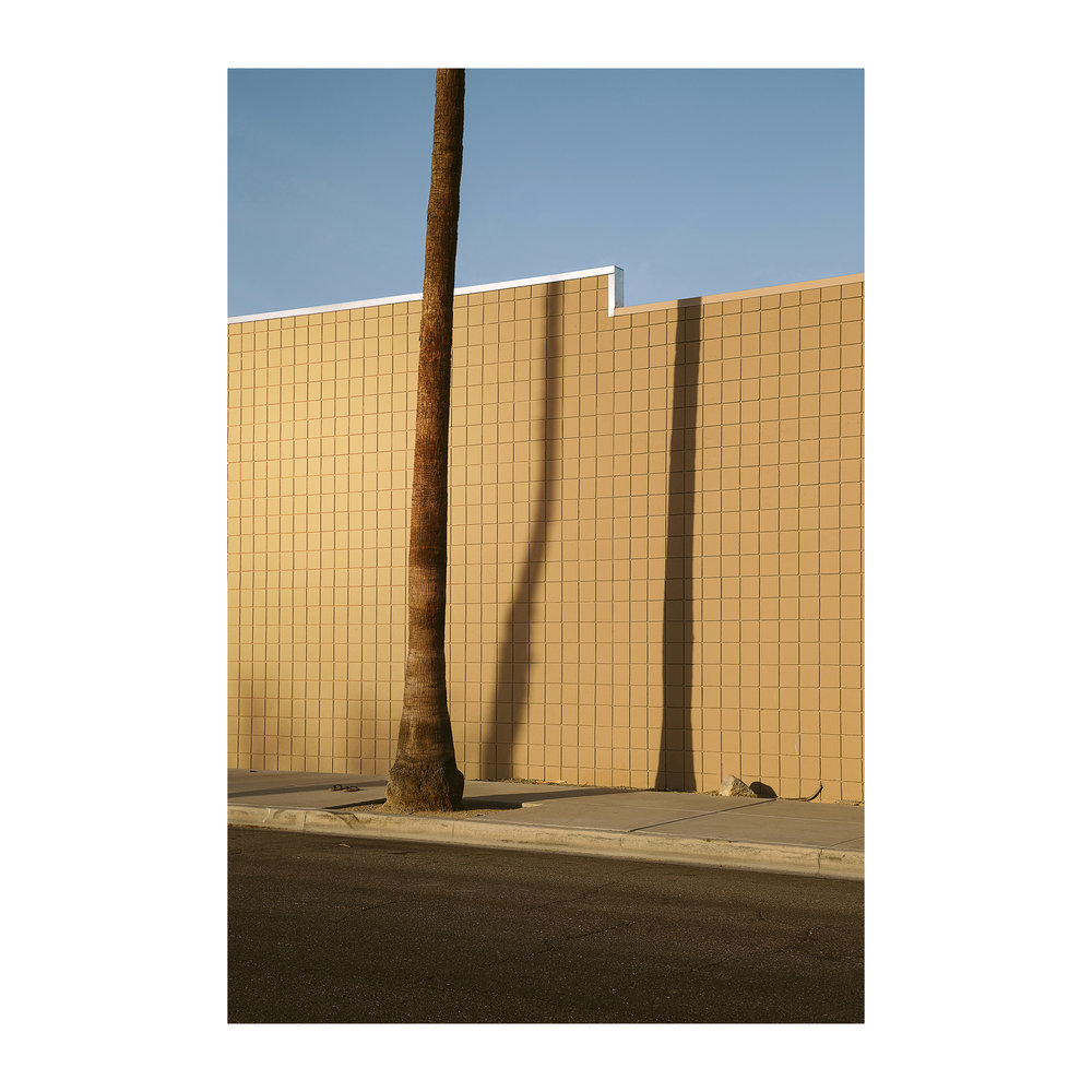 "Three Verticals; Indio, California  Lightjet Kodak Endura C-Print, 30.0"" x 20.0""  Signed, 2017  Edition of Five + 1 Artist Proof"