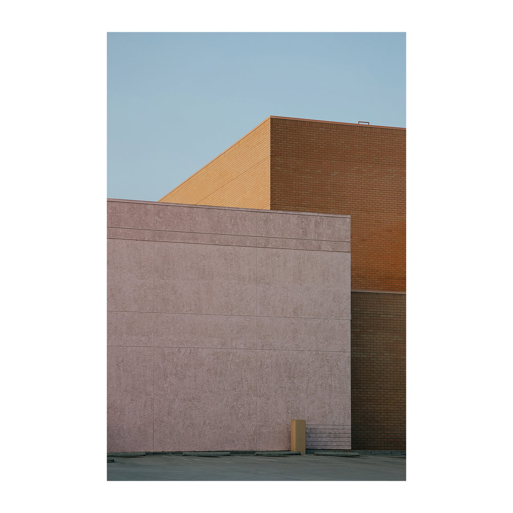 "Urban Blocks; Orange County, California  Lightjet Kodak Endura C-Print, 30.0"" x 20.0""  Signed, 2017  Edition of Five + 1 Artist Proof"
