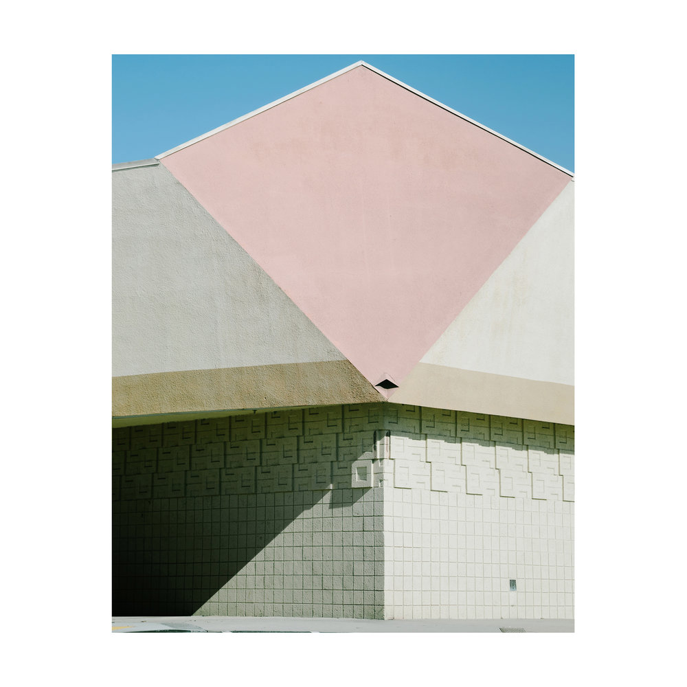 "Basic Shapes; Huntington Beach, California  Lightjet Kodak Endura C-Print, 24.0"" x 19.0""  Signed, 2017  Edition of Five + 1 Artist Proof"