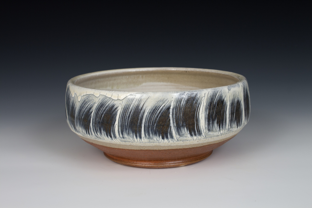 Brushed Slip Bowl