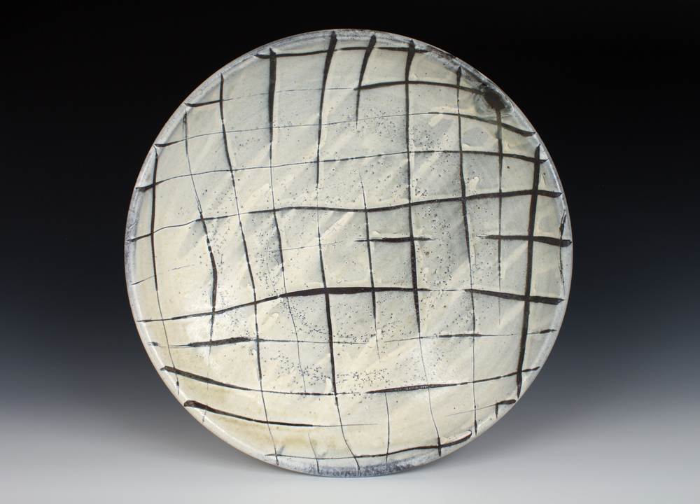 Crosshatch Platter