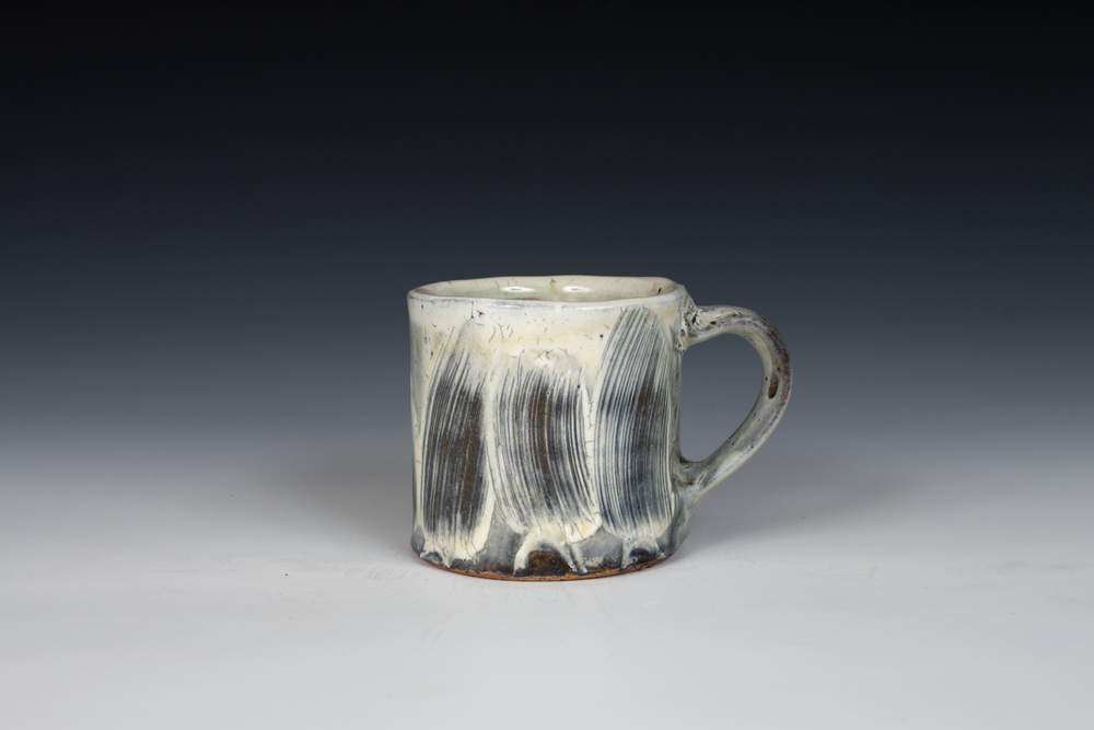 Brushed Slip Mug