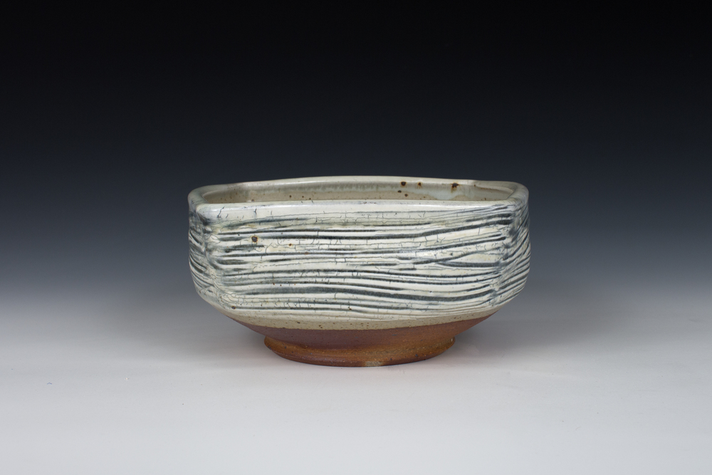 Brushed Slip Square Bowl