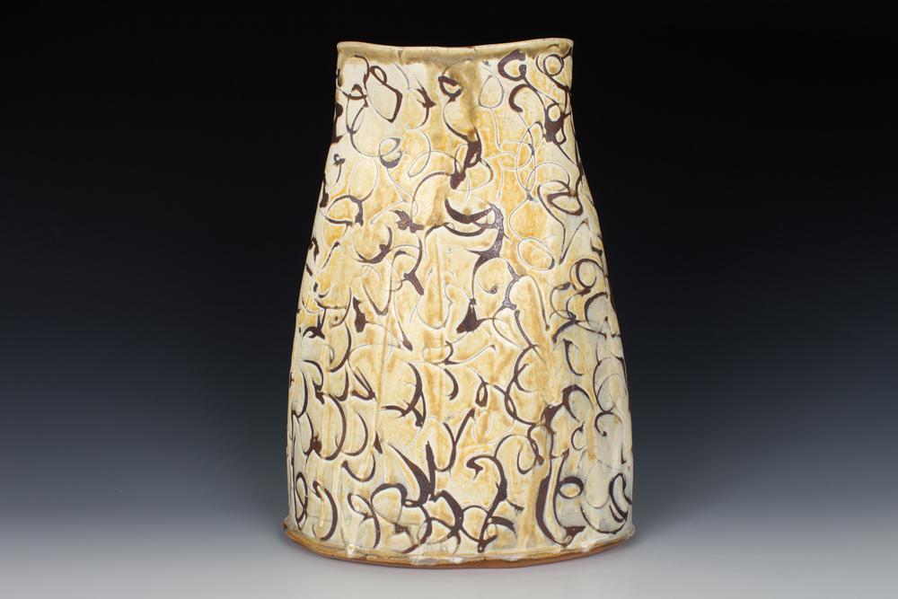 Dogwood Oval Vase