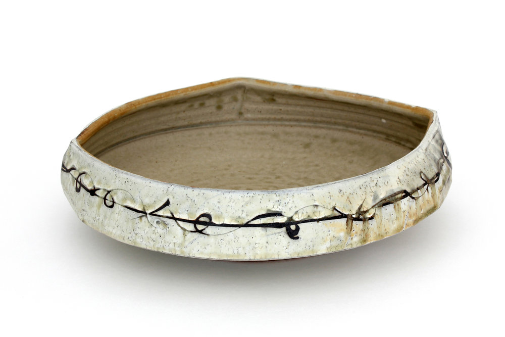 Barbed Wire Bowl. 2018