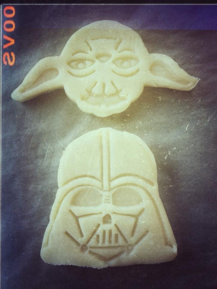 Sugar Cookies - Chewbachy Style