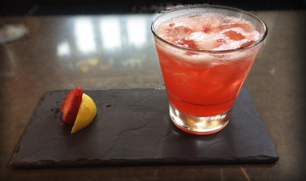 Porfirio's Restaurant Pink Lemonade Vodka