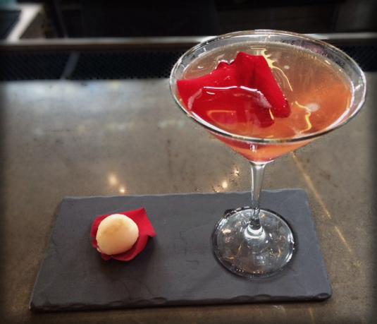 Porfirio's Restaurant Lychee Martini
