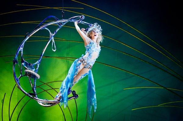Photo courtesy of: Cirque du Soleil