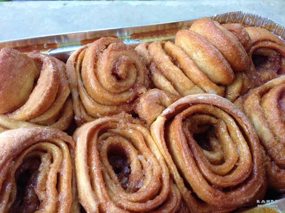 Cinnamon pecan rolls