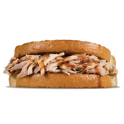 Photo courtesy of: Sonny's BBQ -- Pulled chicken