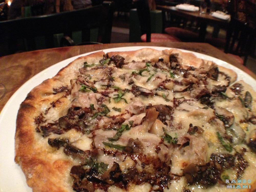 Oak Tavern Duck Confit Pizza
