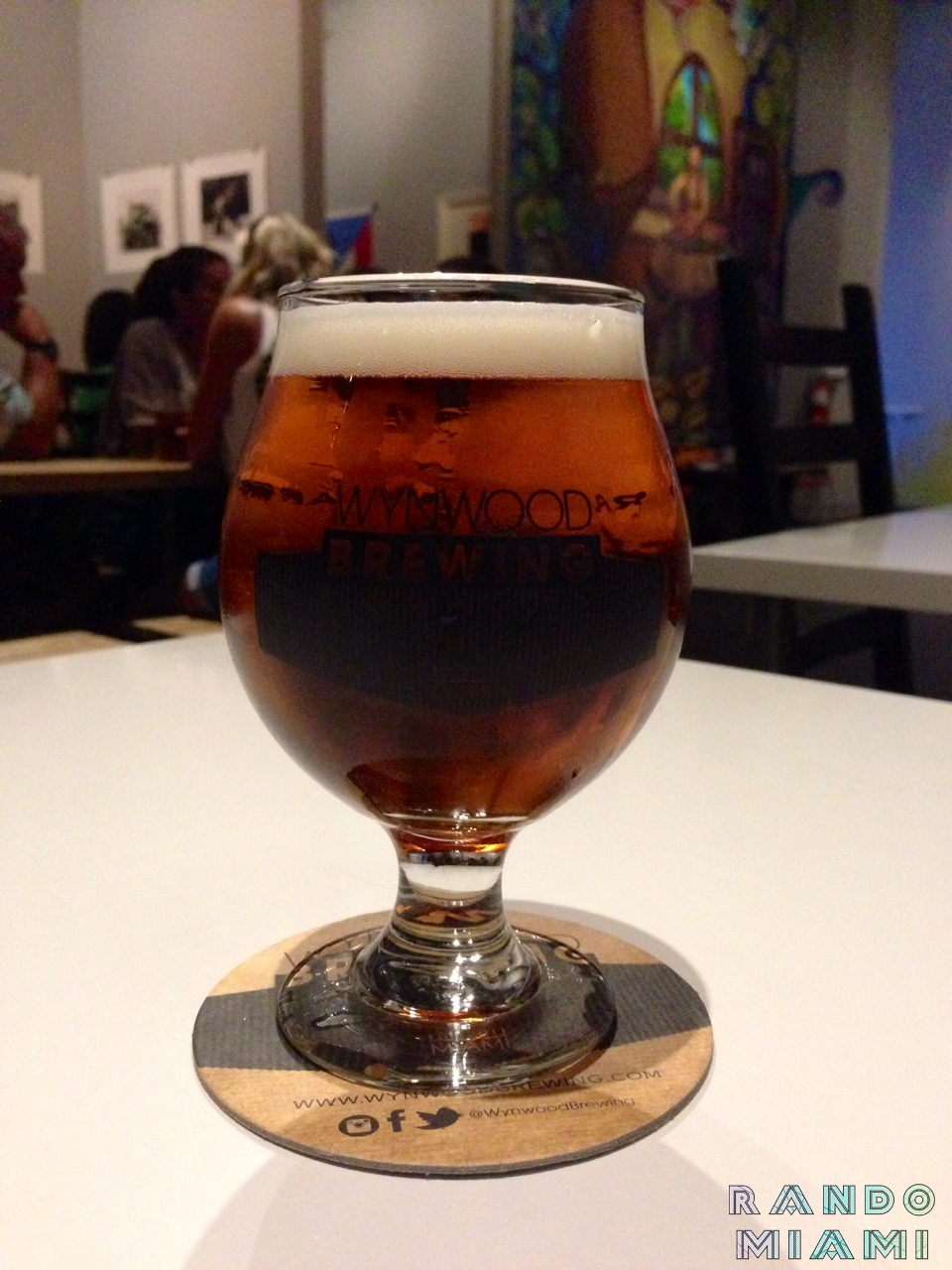 Wynwood Brewing Company La Rubia