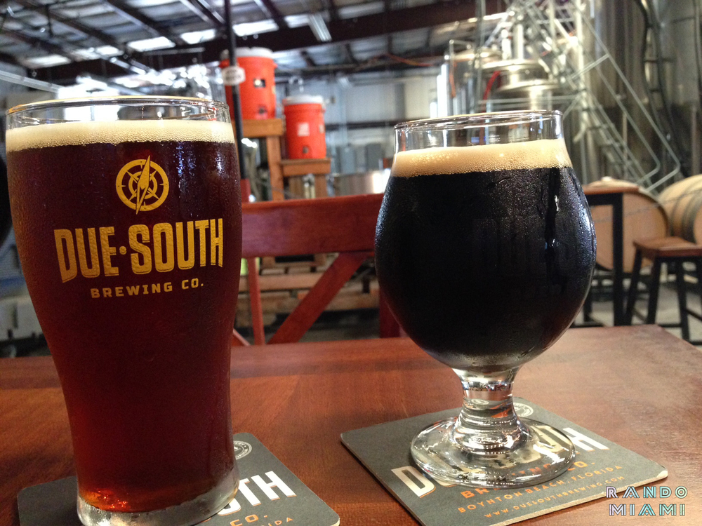 Due South Brewery Caramel Cream Ale & Café Ole Espresso Porter